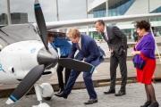 Koning Willem Alexander bezoekt Eye in Amsterdam, 2019